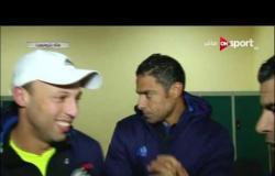 ستاد مصر: لقاء مع مجموعة من لاعبى فريق الأوليمبى عقب مباراتهم مع الزمالك