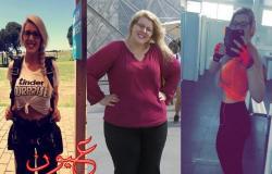 بالصور- كيف فقدت هذه الفتاة 62 كيلو جراماً في عام واحد؟
