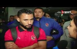 ستاد مصر: لقاء مع حسام عاشور لاعب الاهلى عقب مباراته مع المقاولون العرب
