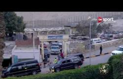 بالفيديو .. وصول النجم ميسي لمنطقة الأهرامات ودخوله فندق ميناهاوس