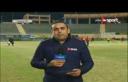 ستاد مصر: أخر استعدادات فريق الأهلى لمباراة وادى دجلة