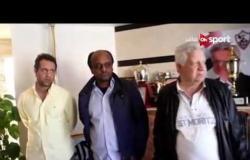 خاص مع سيف: لقاء مع مرتضى منصور رئيس نادى الزمالك وحديث عن مباراة العودة بالبطولة الإفريقية