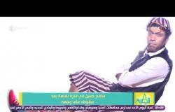 """8 الصبح - سامح حسين فى فترة نقاهة بعد سقوطه على وجهه وتعرضه """"لجرح أدي إلى خياطته عدة غرز"""""""