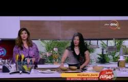 """مطبخ الهوانم - طريقة عمل """"مافن الكنافة بالبلح خالي الدسم"""" مع ريهام شاكر ونهى عبد العزيز"""