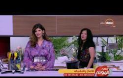 """مطبخ الهوانم - طريقة عمل """"شوربة السبانخ"""" مع ريهام شاكر ونهى عبد العزيز"""