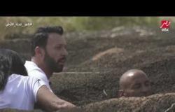 أحمد فهمي يواجه سحلية رامز تحت الأرض