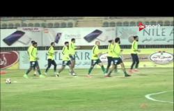 ستاد مصر - أجواء فريق إنبي قبل مواجهة الاتحاد السكندري بالجولة الـ 31 من الدوري الممتاز
