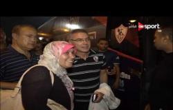 ستاد العرب - لقطات من خروج إيناسيو مدرب الزمالك من ستاد الإسكندرية عقب الهزيمة من العهد