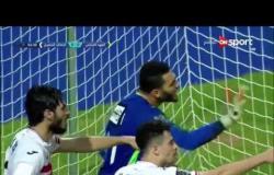 ستاد العرب - عمر صلاح ينقذ مرماه من هدف مؤكد من فريق العهد اللبنانى فى البطولة العربية