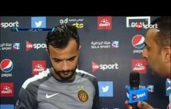 ستاد العرب - لقاء خاص مع طه الخنيسي لاعب الترجي عقب الفوز على المريخ السوداني