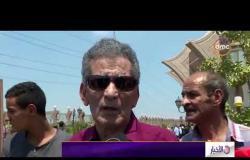 الأخبار - تشييع جنازة الكاتب الكبير محفظوظ عبد الرحمن من مسجد الشرطة بالشيخ زايد