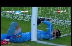 يوسف اوتارا يحرز الهدف الثالث لفريق وادى دجلة فى الدقيقة 94 من عمر المباراة