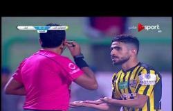 ستاد مصر - لحظة طرد شكري نجيب لاعب المقاولون العرب أمام إنبي