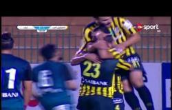ستاد مصر - رامي عادل لاعب المقاولون يترجم ركلة جزاء فريقه إلى هدف ثاني في مرمى إنبي