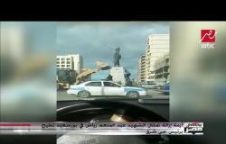 تمثال الشهيد عبدالمنعم رياض يطيح برئيس حي شرق بورسعيد