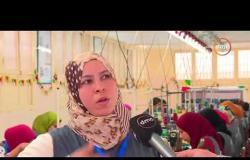 مساء dmc - تقرير .. مشروع ( شغلك في قريتك ) .. مصنع ملابس جاهزة بقرية ضحا المرج