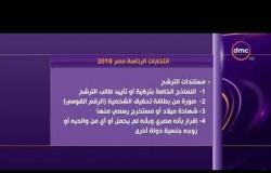 الأخبار -شروط الترشح لانتخابات الرئاسة المصرية 2018