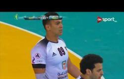الشوط الأول من مباراة كرة اليد بين منتخب مصر ومنتخب أنجولا في بطولة أمم إفريقيا