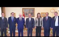 الأخبار - الرئيس السيسي يبحث مع مدير المدرسة الوطنية الفرنسية تعزيز التعاون المشترك