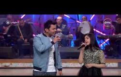 """تعشبشاي - الفنان محمد محي يغني مع الموهوبة """" رحمة الصاوي """" أغنية """" بحبك """""""