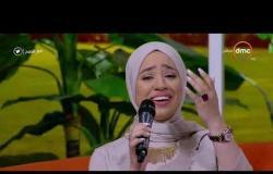 """8 الصبح - أغنية رائعة """" مصر محتاجة السواعد """" بصوت الجميلة بسمة عبد القادر"""