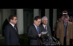 الأخبار - البيت الأبيض: ترامب سيقبل دعوة للقاء زعيم كوريا الشمالية على أن يحدد الموعد والمكان لاحقا