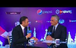 """لقاء مع أحمد البحيري """"رئيس شركة المصرية للإتصالات"""" على هامش احتفالية تقديم الطائرة الخاصة للمنتخب"""