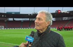 تغطية خاصة - لقاء خاص مع حسن مصطفى رئيس الاتحاد الدولي لكرة القدم من معسكر المنتخب بسويسرا