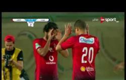 الهدف الثانى لفريق الأهلى فى مرمى بتروجيت يحرزه مروان محسن فى الدقيقة 55 من زمن المباراة