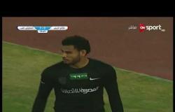 الهدف الأول لفريق طلائع الجيش فى مرمى المقاولون العرب يحرزه خالد سطوحى فى الدقيقة 37 من زمن المباراة