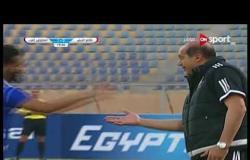 الهدف الأول لفريق المقاولون العرب فى مرمى طلائع الجيش يحرزه أحمد على فى الدقيقة 15 من زمن المباراة