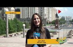 موفدة ONSPORT في سان بطرسبرج - صحفية روسية: روسيا لو فازت مصر هتبقى معجزة