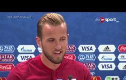 المؤتمر الصحفي لمنتخب إنجلترا قبل مواجهة تونس