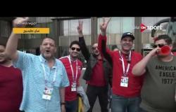موفدة #ONSPORT في سان بطرسبرج - ترصد توافد المصريين في شوارع روسيا قبل بدء المباراة