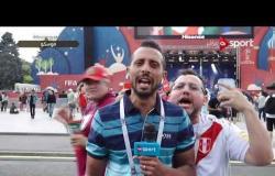 موفد ONSPORT - المشجعين يستمتعوا بأجواء المونديال حتى فى حالة هزيمة منتخباتهم
