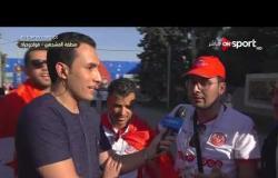 توقعات الجماهير التونسية لفرص منتخبهم فى كأس العالم وتعقيبهم على هزيمة المغرب من البرتغال