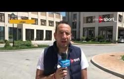 خاص لـ ONSPORT - موفدنا في جروزني يرصد أخر استعدادات المنتخب المصري قبل لقاء السعودية