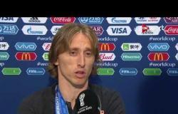 مودريتش: كنا الأفضل أمام فرنسا.. وتمنيت الفوز بكأس العالم