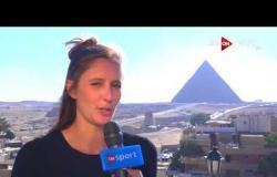 رحالة أسترالية على الأراضي المصرية