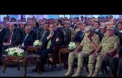 """الرئيس السيسي تعليقاً على شبكة الطرق """" انتوا شاقين كباري وسط العمارات .. محدش يعمل كدة """" #تغطية-خاصة"""