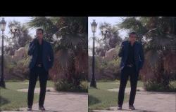 """الأب الروحي - كوميديا مصطفى أبو سريع """"فارس"""" ( لما تشرب سيجار لأول مرة .. يا بوي شربته من قفاه )"""