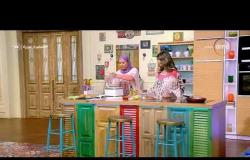 """السفيرة عزيزة - فقرة المطبخ مع """" الشيف / ليلى أبو وردة """" .. طريقة عمل ( البرجر )"""