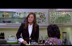 صاحبة السعادة - حلا شيحة وهي فى المطبخ بتعمل أكلة رجيم شكل إسعاد يونس أول ماقالت رجيم