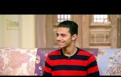 السفيرة عزيزة - المنشد / أشرف سليم : أنا من غير إنشاد أنا ميت .. طول السنة في جلسات إنشاد