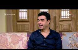 السفيرة عزيزة - الموسيقار/ هشام نزيه - يتحدث عن الآلات الخاصة التي يستخدمها في توزيع الموسيقى