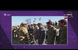 """اليوم - عناصر من القوات المسلحة المصرية والأردنية تنفذان التدريب المشترك المصري الأردني """"العقبة - 4"""""""