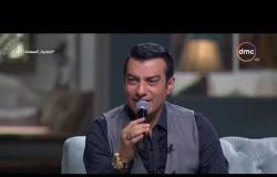 صاحبة السعادة - غناء الفنان إيهاب توفيق والفنان حميد الشاعري أغنية ( لأنك ) لايف