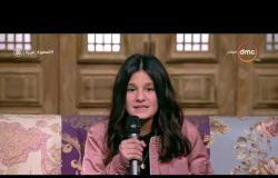 السفيرة عزيزة - الطفلة / مها الجوهري - تتحدث عن بداية اهتمامها وإلقائها لقصائد الشعر