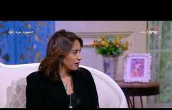 السفيرة عزيزة - دينا حمدي - توضح أهم الخامت التي تستخدمها في تصميم أزيائها
