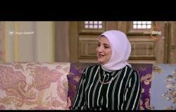"""السفيرة عزيزة - سالي سليمان - تتحدث عن صفحة """" شطورة """" على الفيس بوك وحبها للطبخ"""